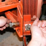 Kubota LA300 Attachment points